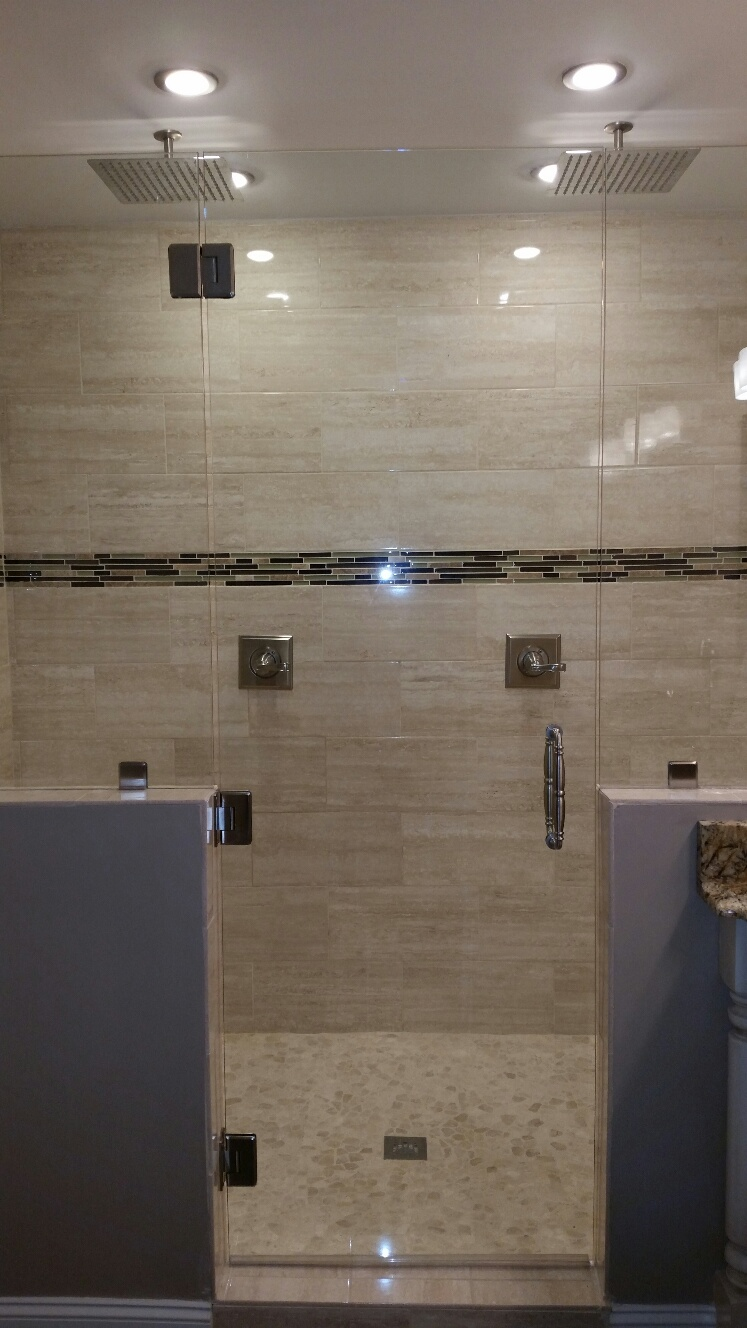 Custom Tile Shower Installation ...