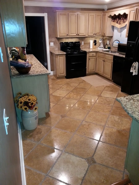 Tile installation repair complete flooring service for Kitchen flooring installation